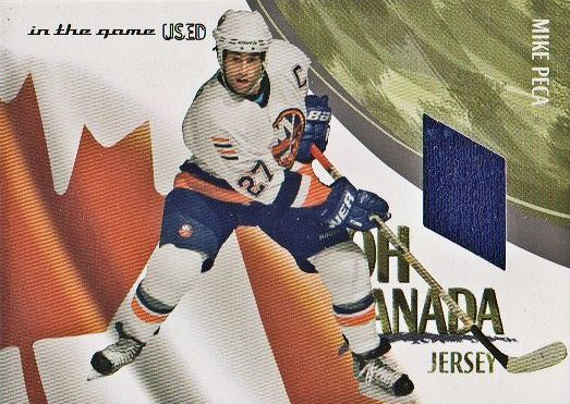 2003-04 ITG Used Signature Series Oh Canada #12 Mike Peca
