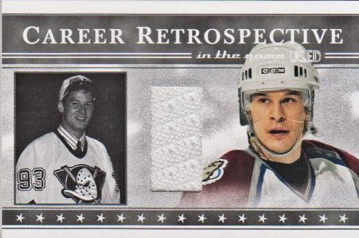 2003-04 ITG Used Signature Series Retrospectives #7A Paul Kariya