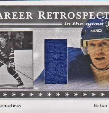 2003-04 ITG Used Signature Series Retrospectives #14A Brian Leetch