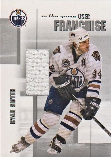 2003-04 ITG Used Signature Series Franchise Jerseys #12 Ryan Smyth
