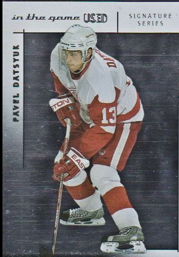 2003-04 ITG Used Signature Series #5 Pavel Datsyuk