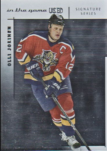 2003-04 ITG Used Signature Series #15 Olli Jokinen