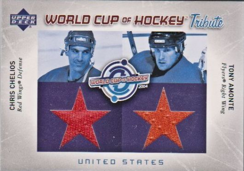 2004-05 Upper Deck World Cup Tribute #CCTA Chris Chelios/Tony Amonte