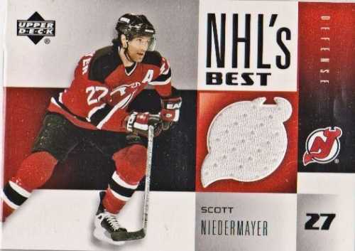 2004-05 Upper Deck NHL's Best #NBSN Scott Niedermayer