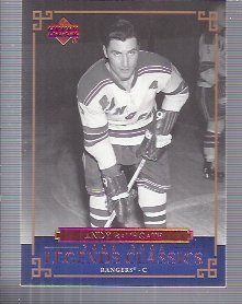 2004-05 UD Legends Classics #2 Andy Bathgate