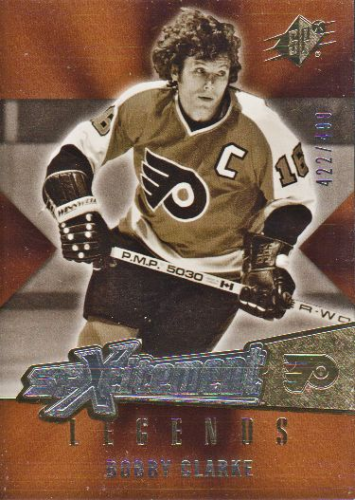 2005-06 SPx Xcitement Legends #XLBC Bobby Clarke