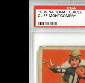1935 National Chicle #21 Cliff Montgomery RC