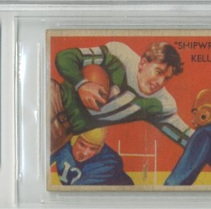 1935 National Chicle #22 Shipwreck Kelly UER RC