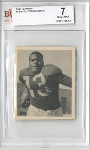 1948 Bowman #8 Kenny Washington RC