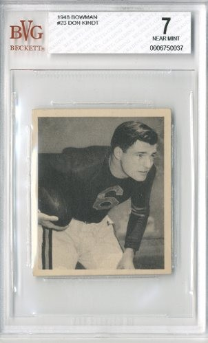 1948 Bowman #23 Don Kindt RC