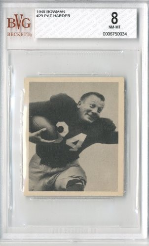 1948 Bowman #29 Pat Harder RC