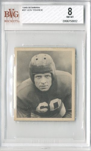 1948 Bowman #37 Len Younce RC