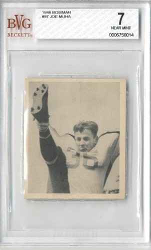 1948 Bowman #97 Joe Muha RC