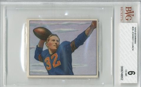 1950 Bowman #26 Johnny Lujack