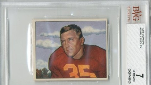 1950 Bowman #29 Bill Dudley