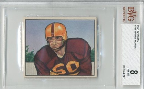 1950 Bowman #101 Harry Ulinski RC