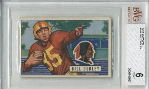 1951 Bowman #144 Bill Dudley