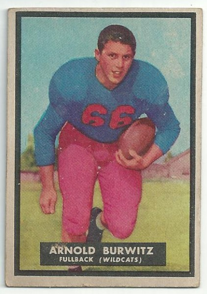 1951 Topps Magic #69 Arnold Burwitz RC
