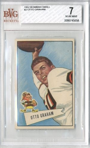 1952 Bowman Small #2 Otto Graham