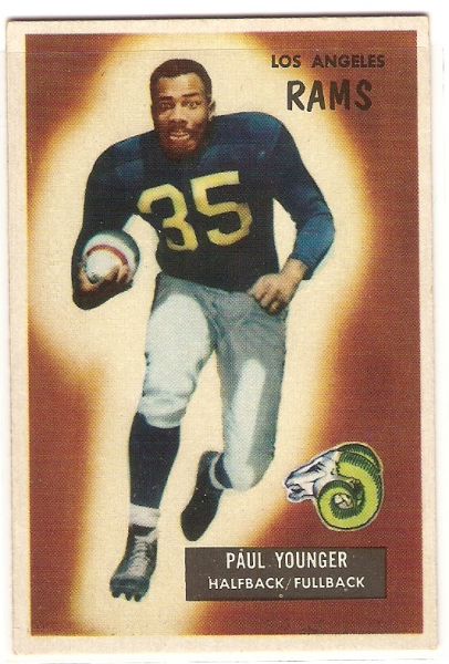 1955 Bowman #38 Tank Younger