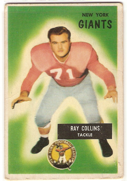 1955 Bowman #41 Ray Collins RC