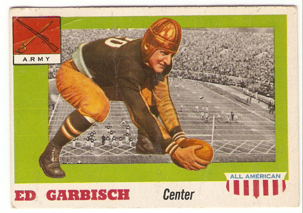 1955 Topps All American #44 Ed Garbisch RC
