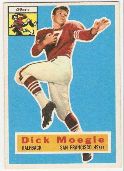 1956 Topps #14 Dick Moegle