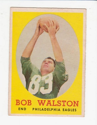1958 Topps #87 Bobby Walston