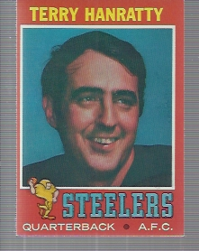 1971 Topps #30 Terry Hanratty RC