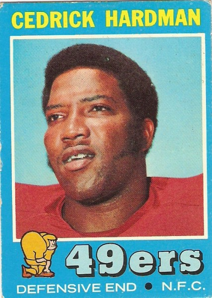 1971 Topps #149 Cedrick Hardman RC