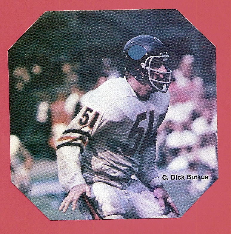 1976 Sportstix #C Dick Butkus/Chicago Bears