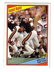 1984 Topps #229 Walter Payton IR