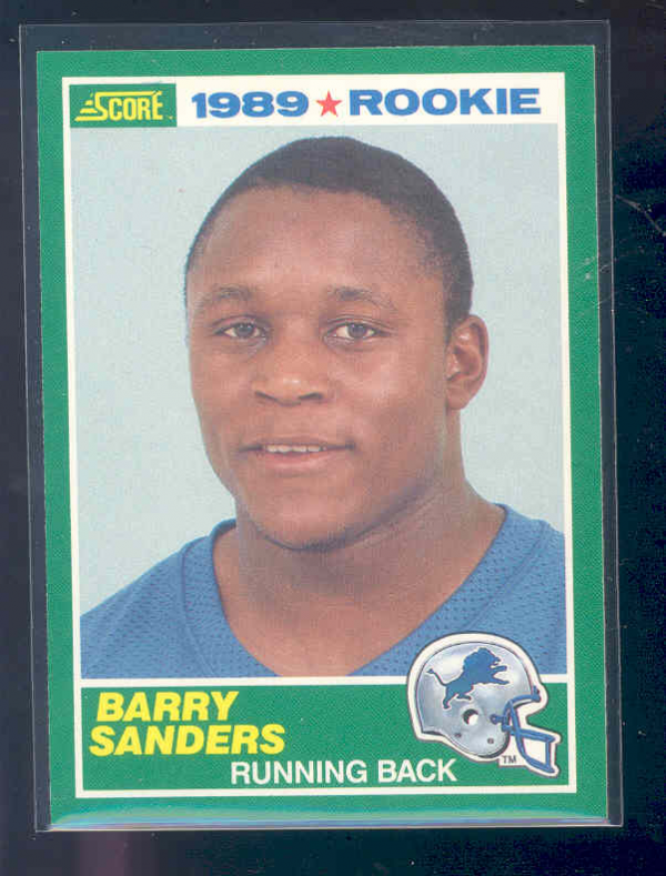 1989 Score #257 Barry Sanders RC
