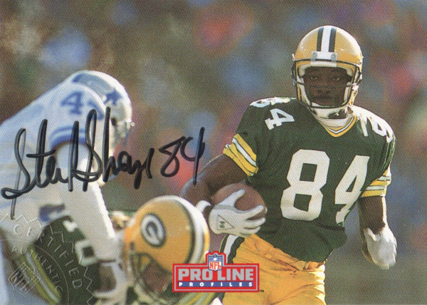 1992 Pro Line Profiles Autographs #80 Sterling Sharpe