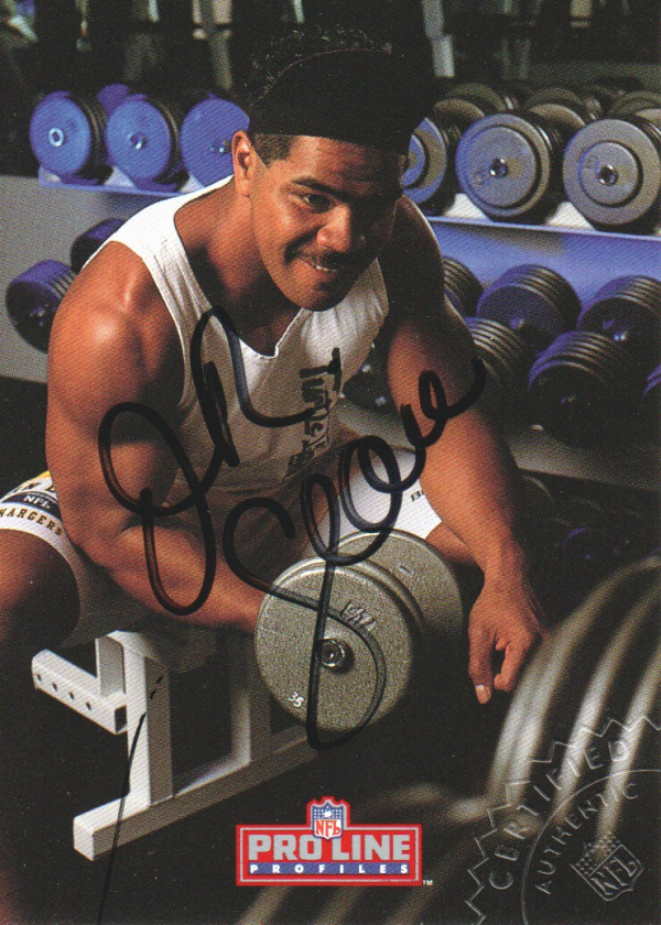 1992 Pro Line Profiles Autographs #143 Junior Seau
