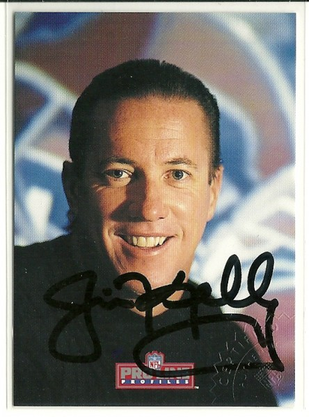 1992 Pro Line Profiles Autographs #432 Jim Kelly