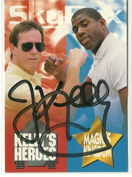 1993 SkyBox Impact Kelly/Magic #AU1 Kelly Header AU/2500