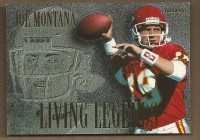 1994 Fleer Living Legends #3 Joe Montana