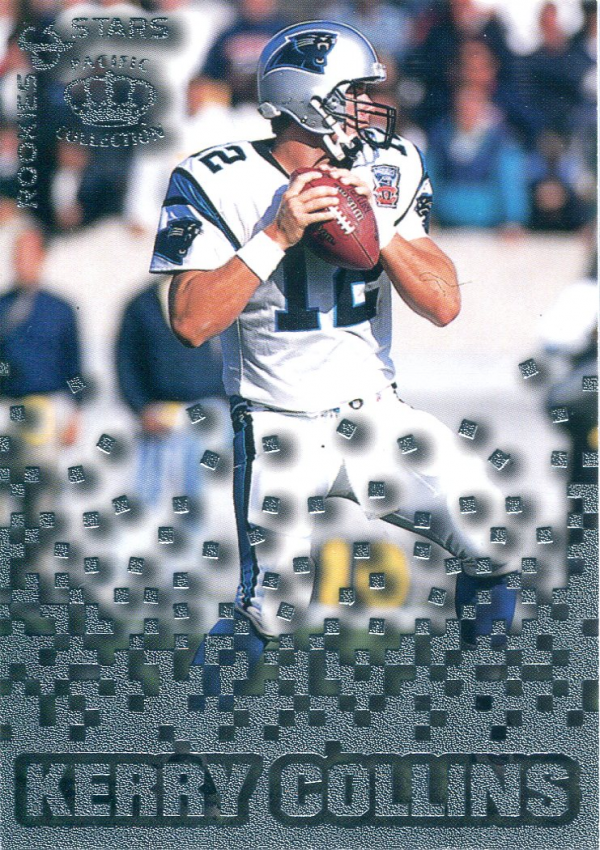 1995 Pacific Triple Folders Rookies and Stars Silver #3 Kerry Collins