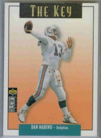 1995 Collector's Choice Update Gold #U68 Dan Marino K
