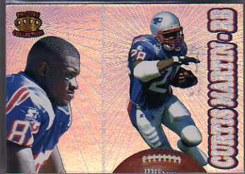 1995 Pacific Prisms #195 Curtis Martin UER RC