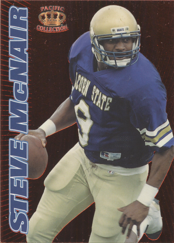 1995 Pacific Prisms Red Hot Rookies #3 Steve McNair