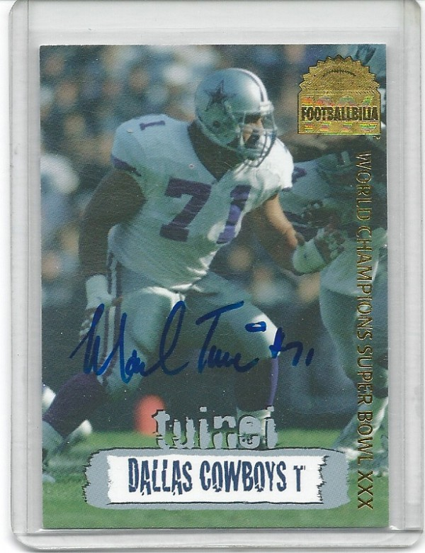 1996 Collector's Edge Cowboybilia Autographs #DCA9 Mark Tuinei/4000