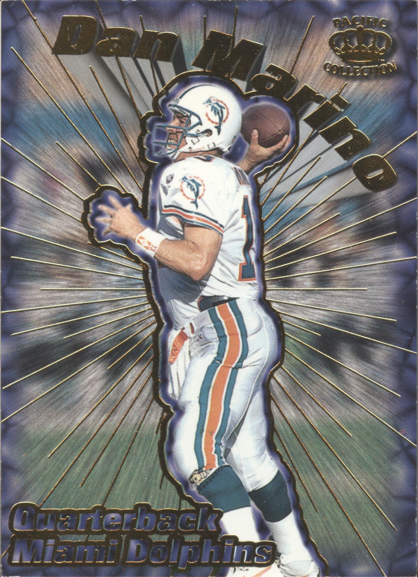 1996 Pacific Card Supials #19 Dan Marino
