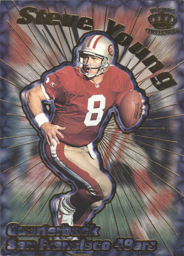 1996 Pacific Card Supials #30 Steve Young