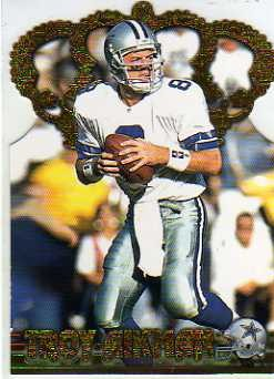 1996 Pacific Gold Crown Die Cuts #2 Troy Aikman