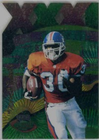 1996 Playoff Illusions XXXI Spectralusion #80 Terrell Davis