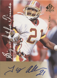 1997 SP Authentic Sign of the Times #3 Terry Allen front image