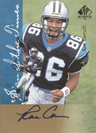 1997 SP Authentic Sign of the Times #11 Rae Carruth front image