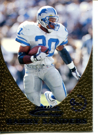 1997 Action Packed Gold Impressions #16 Barry Sanders front image